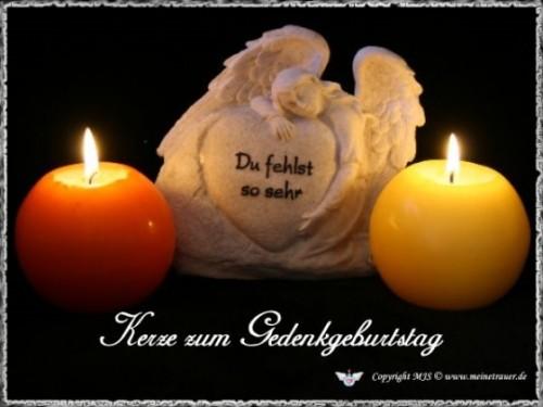 Eine Kerze Für Verstorbene